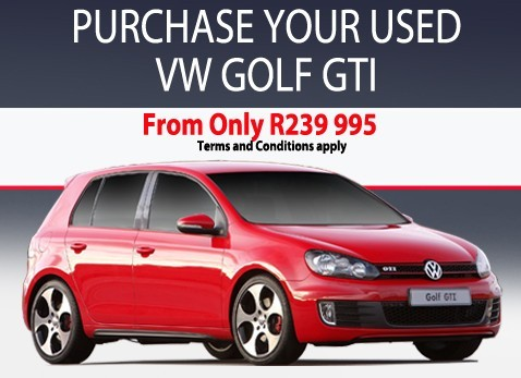 PURCHASE YOUR USED VW GOLF GTI AT VW Menlyn
