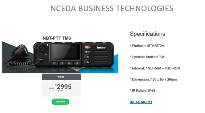 Nceda Business Technologies May Special
