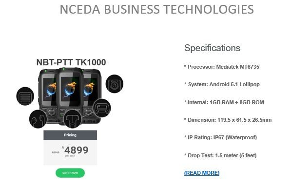 Nceda Business Technologies May Special 2018