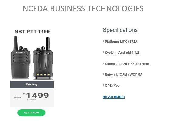 Nceda Business Technologies May Deal