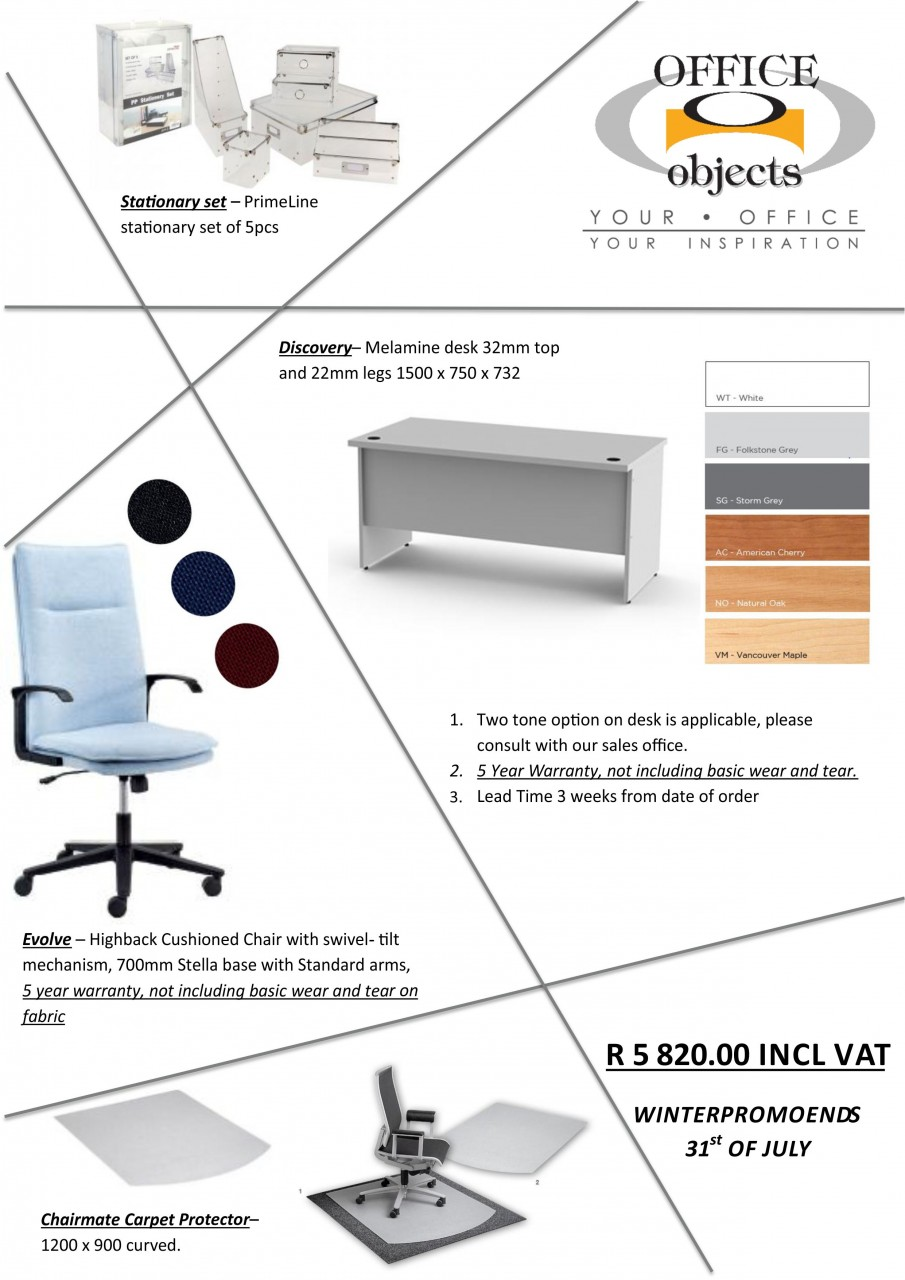 Office Objects Winter Inspiration Furniture