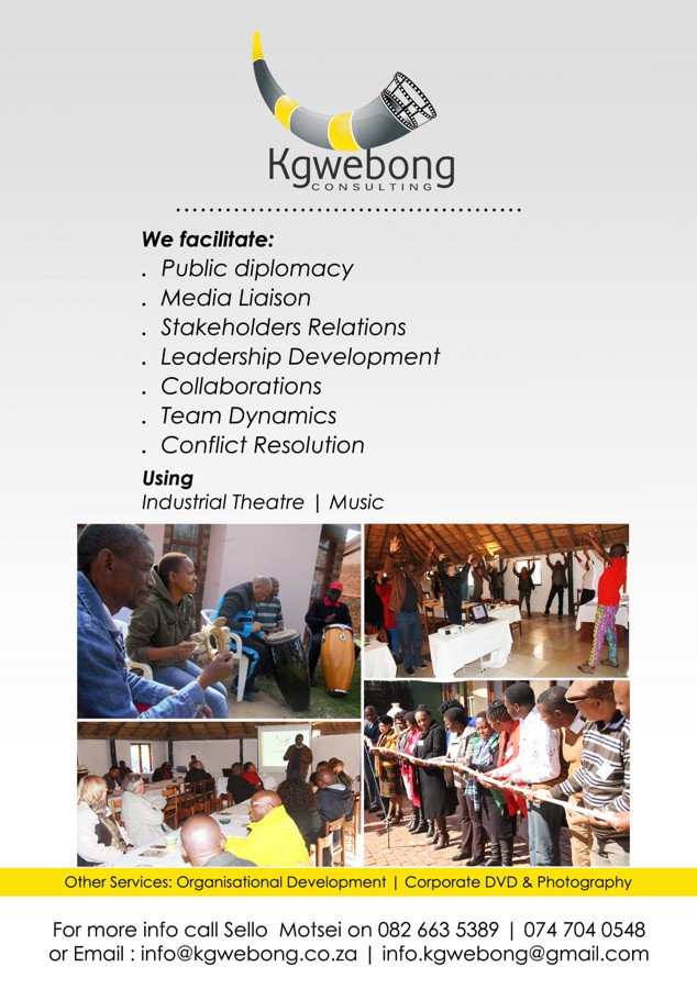 Kgwebong Consulting Facilitation Specialist